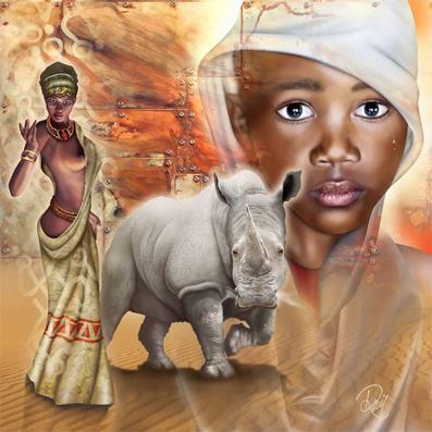 African Frames