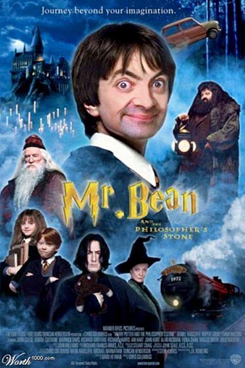 Se Mr. Bean fosse Harry Potter: