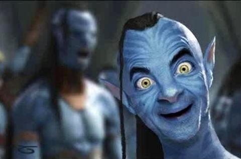 Se ele fosse um Avatar (kkkkk):