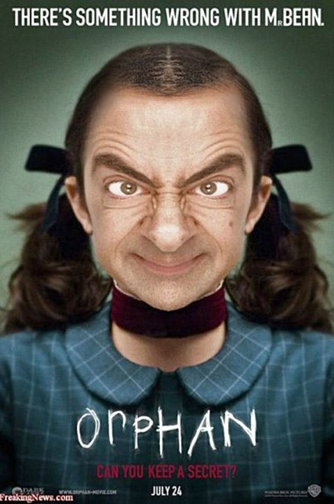 Mr Bean orphan Montagens de Fotos Mr. Bean photoshop