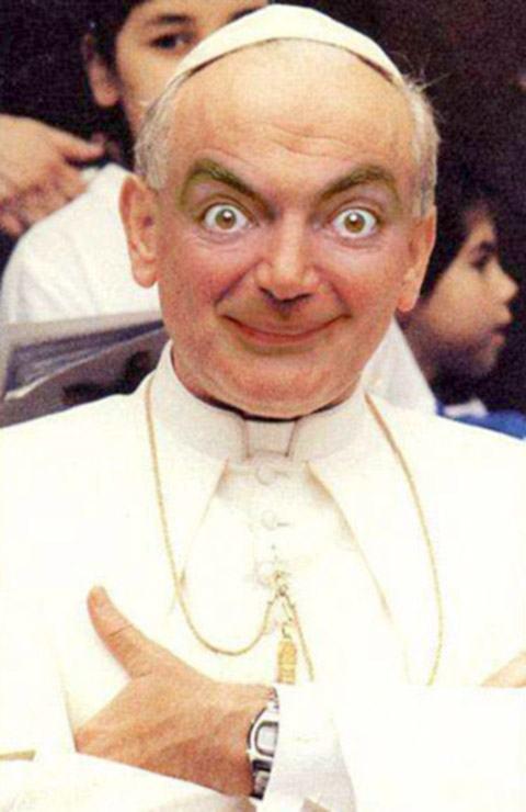 Se ele fosse o Papa (nossaaaa):