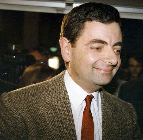 Rowan Atkinson Montagens de Fotos Mr. Bean photoshop