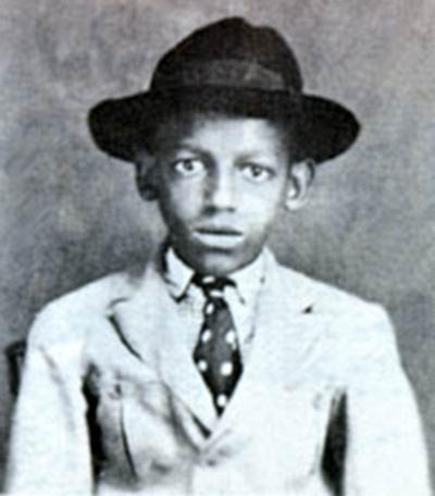 Cartola com 11 anos de idade.