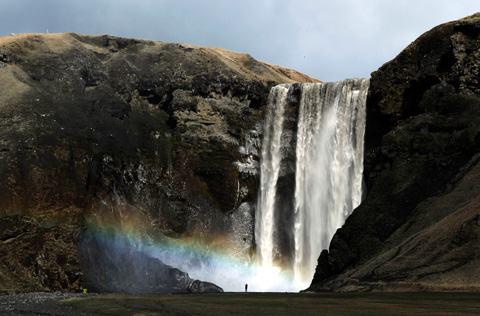 Eyjafjallajokull-cachoeira