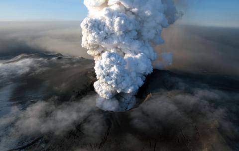 Eyjafjallajokull-cratera