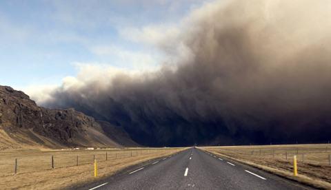 Eyjafjallajokull-estrada