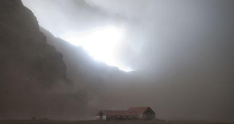 Eyjafjallajokull-fazenda
