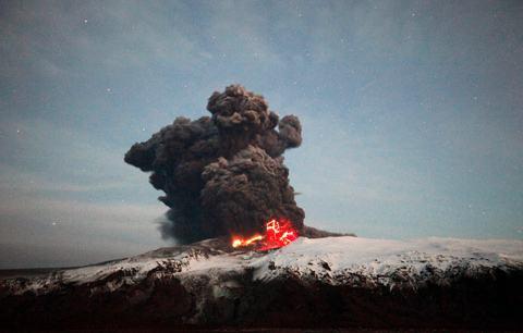 Eyjafjallajokull-raios-cratera