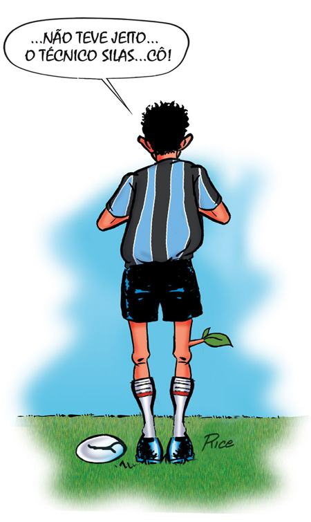 Charge Grêmio Rice