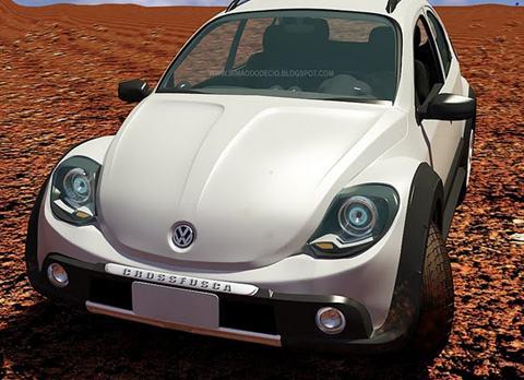 Novo Fusca zero km 2011 show de design