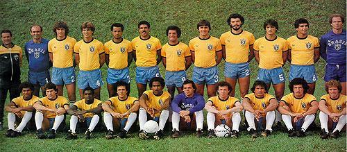 Seleção Brasileira de 1982 com Telê Santana