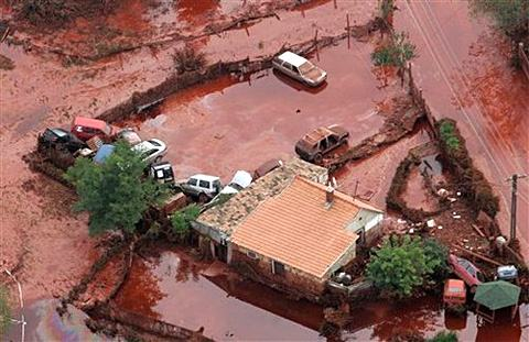 O maior desastre ambiental da Hungria