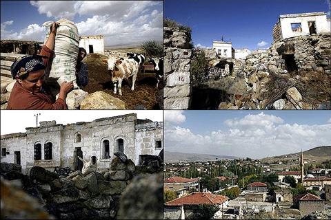 Cidade fantasma da Turquia: Tuzkoy contra o cancer