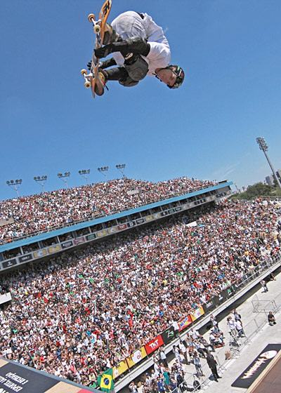 Skate é o esporte mais praticado no Brasil depois do futebol