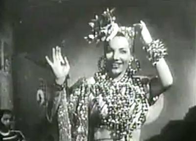 Carmen Miranda em O Que Que a Baiana Tem de 1939
