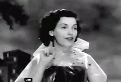 Emilinha Borba interpretando Tomara Que Chova em 1950