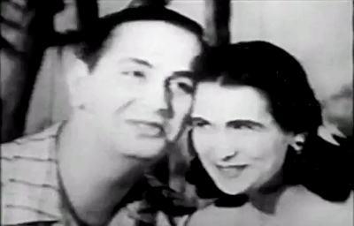 Hebe Camargo e Ivon Curi: primeira música interpretada na TV Brasileira