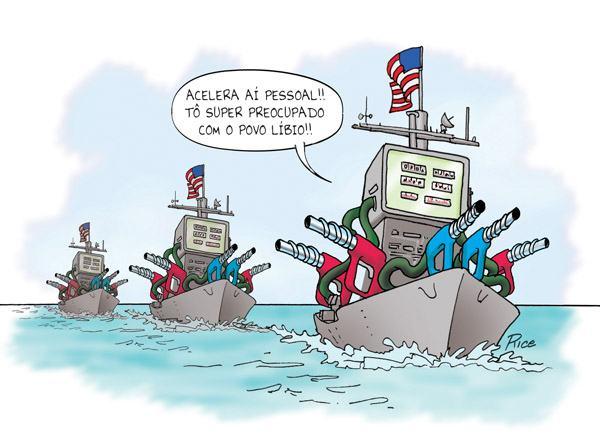 Líbia e USA: grande amizade