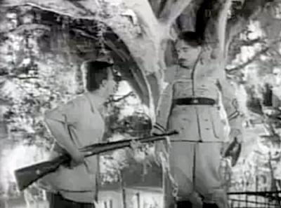 Mazzaropi e Adoniran Barbosa no filme A Carrocinha de 1955