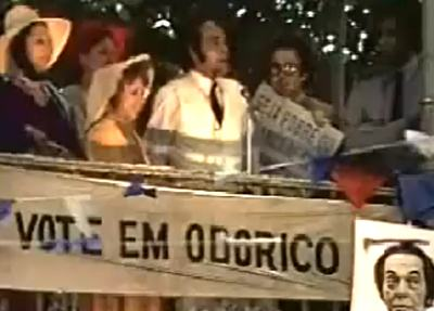 O Bem Amado: discurso de Odorico Paraguaçu para prefeito em 1973