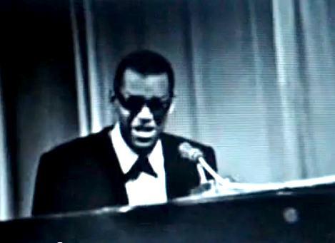 Apresentação sensacional de Ray Charles na TV Excelsior em 1963