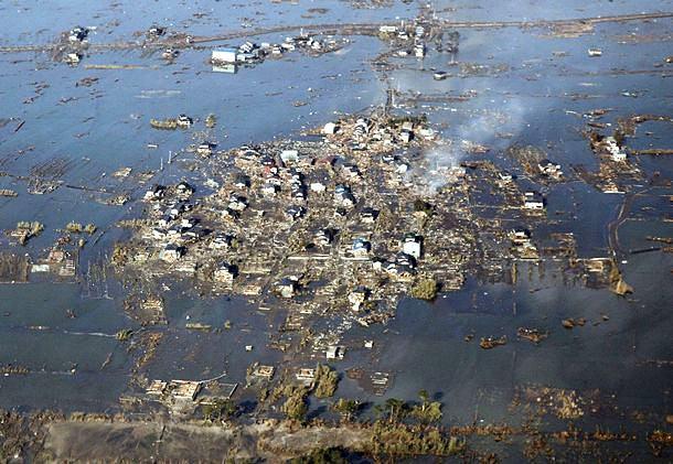 Estatísticas de um Japão em prantos: terremoto e tsunami