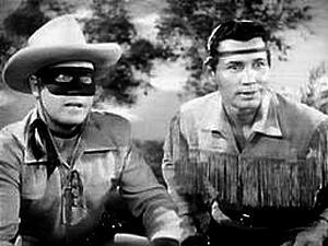 Zorro e seu fiel escudeiro o índio Tonto