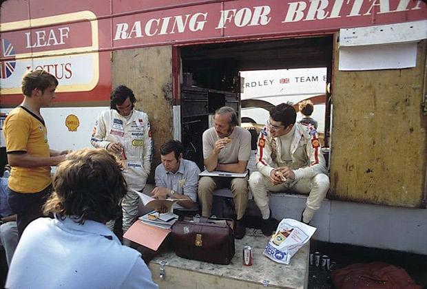 Fórmula 1 de antigamente: viaje no tempo