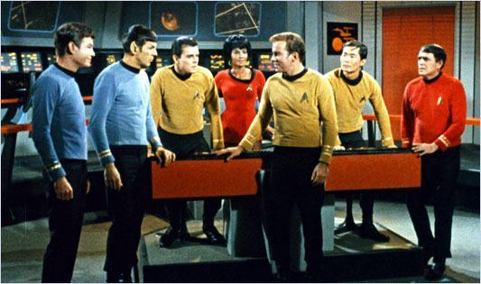 Jornada nas Estrelas: capitão Kirk e Sr. Spock
