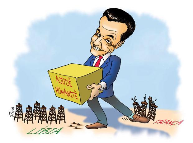 Nicolas Sarkozy: mais um grande amigo da Líbia ex Kadafi