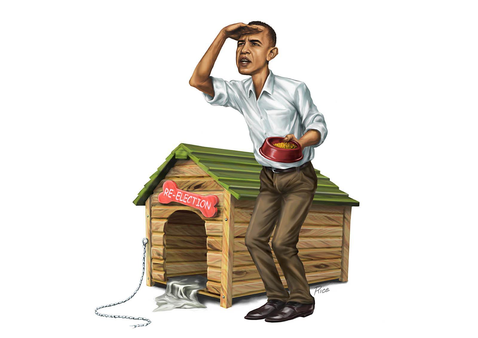 Reeleição de Obama na berlinda