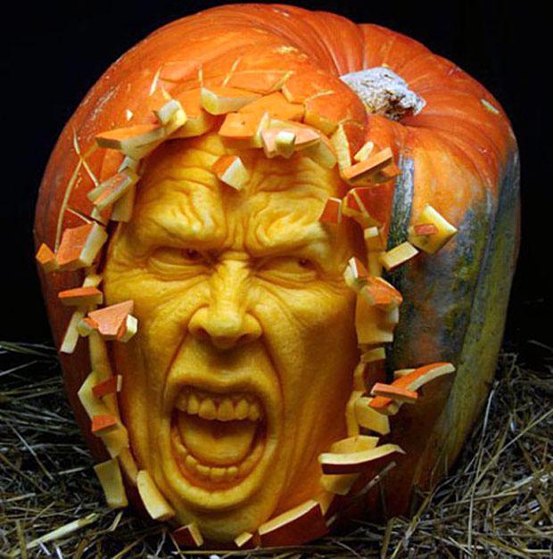 Fantásticas obras de arte esculpidas em abóboras para o Halloween