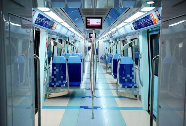 Maior metrô totalmente automatizado do mundo: Dubai