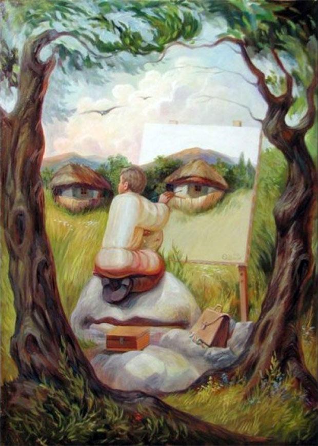 Oleg Shuplyak: russo dá show com ilusões de ótica sensacionais
