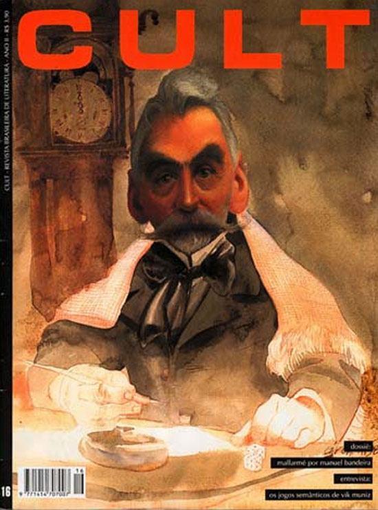 Exímio caricaturista, Gonzalo Cárcamo é pura aquarela