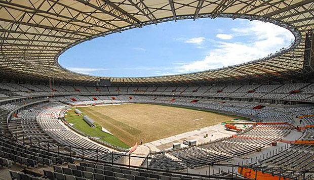 Inauguração do 2º estádio para copa 2014: Dilma vem ver o Mineirão