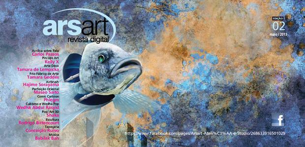 Saiu o número 02 da Arsart Revista Digital