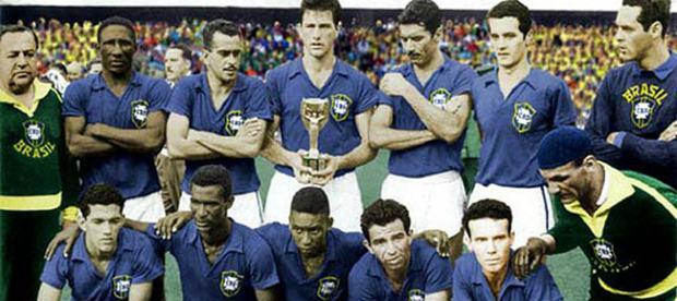 Assista Brasil X Suécia: final da Copa de 1958 Imperdível
