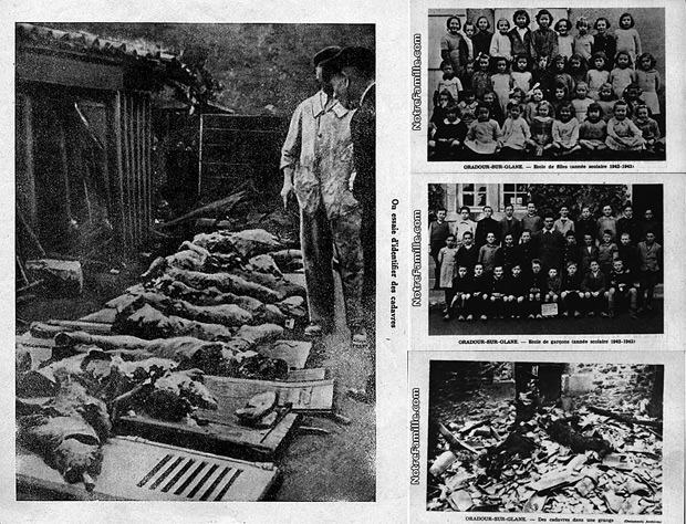 Massacre de Oradour-sun-Glane: atrocidade nazista