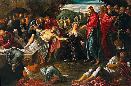 ressurreicao-de-lazaro-Jacapo-Tintoretto-1558