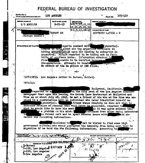 documento-fbi-comprova-fuga-hitler-para-argentina