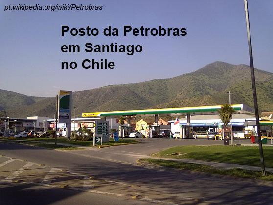 Posto-Petrobras-em-Santiago-Chile