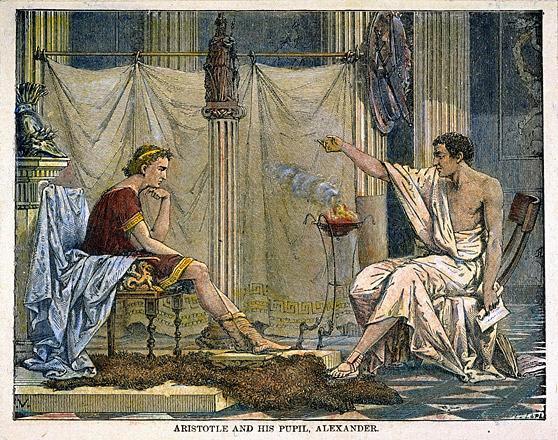 Aristoteles-ensina-Alexandre-de-Charles-Laplante