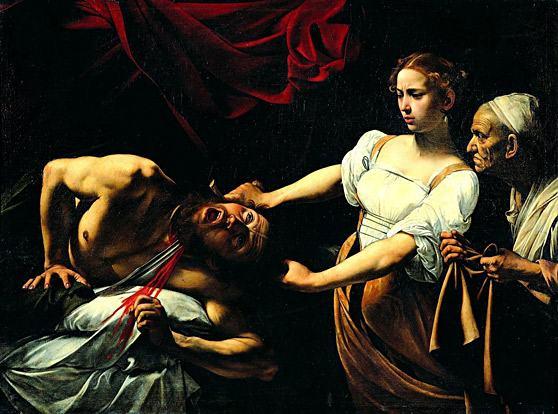 Caravaggio-Judite-e-Holofernes
