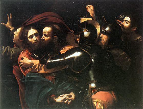 Caravaggio-captura-de-Cristo