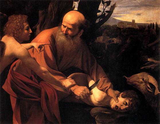 sacrificio-de-Isaac-Caravaggio