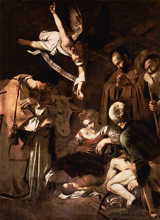 nascimento-de-Cristo-Michelangelo-Caravaggio