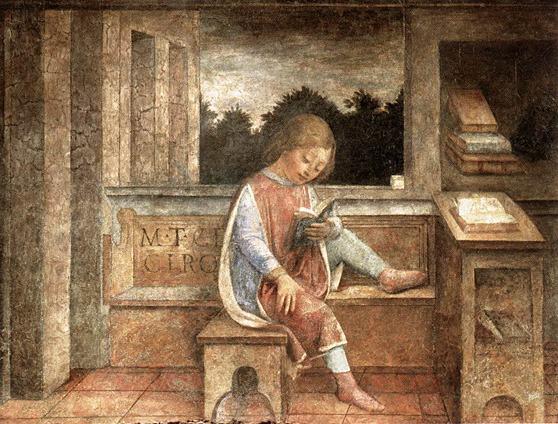 jovem-Cicero-lendo-por-Vincenzo-Foppa