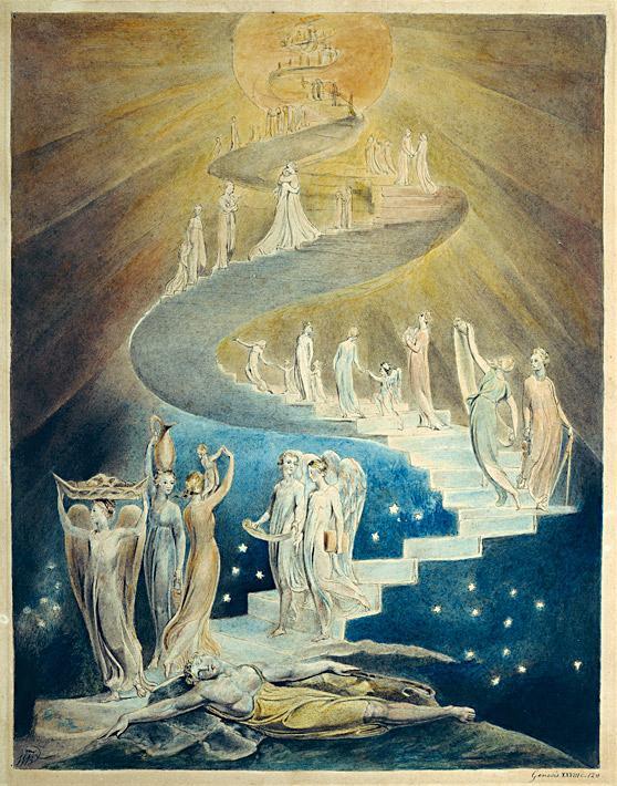 escada-de-Jaco-Jacob-Dream-William-Blake
