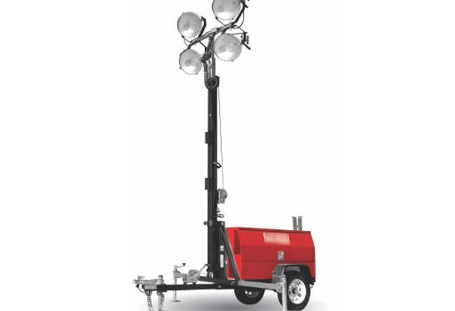 Como as torres de iluminação garantem um funcionamento contínuo em eventos